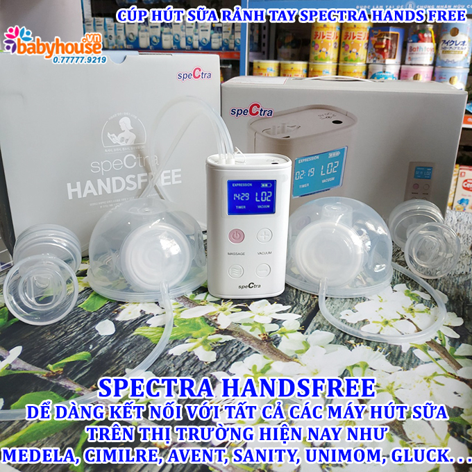 cup hut sua ranh tay spectra hands free 1