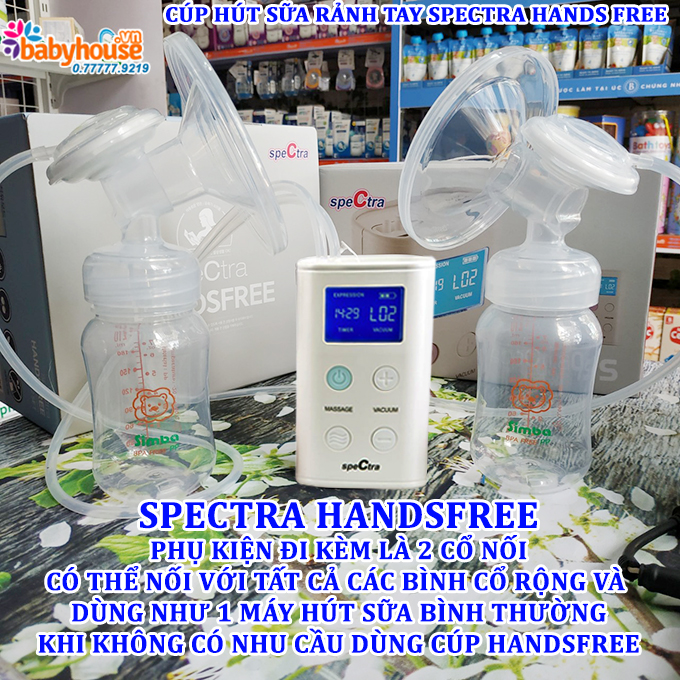 cup hut sua ranh tay spectra hands free 9 plus 2