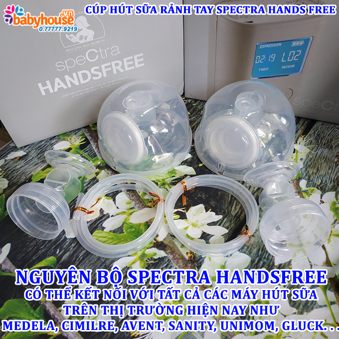 cup hut sua ranh tay spectra hands free