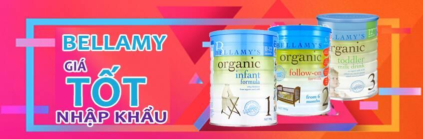 Sữa Bellamy Organic